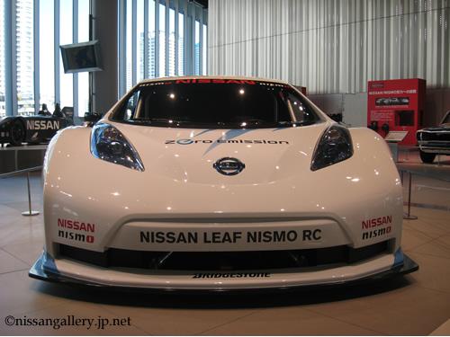 日産リーフ ニスモRC SUPER GT二年連続総合優勝イベント