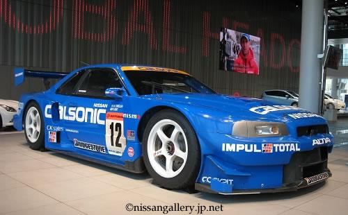 カルソニック スカイライン(BNR34型・2002年全日本GT選手権参戦車)