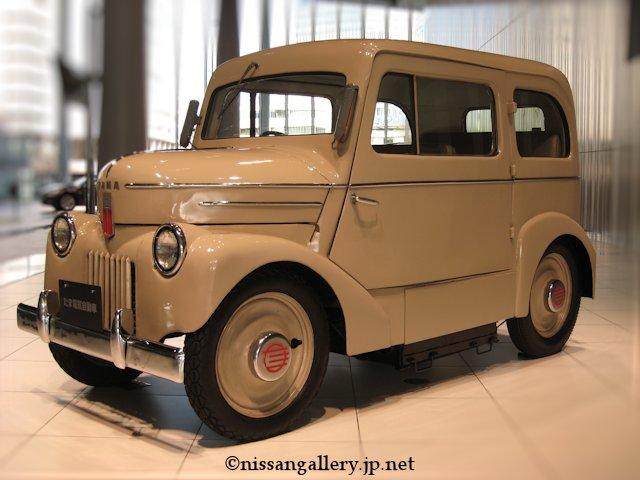 1947年に作られた電気自動車