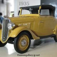 ダットサン14型ロードスター 展示
