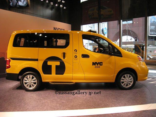 NYと日本の違い NV200タクシー
