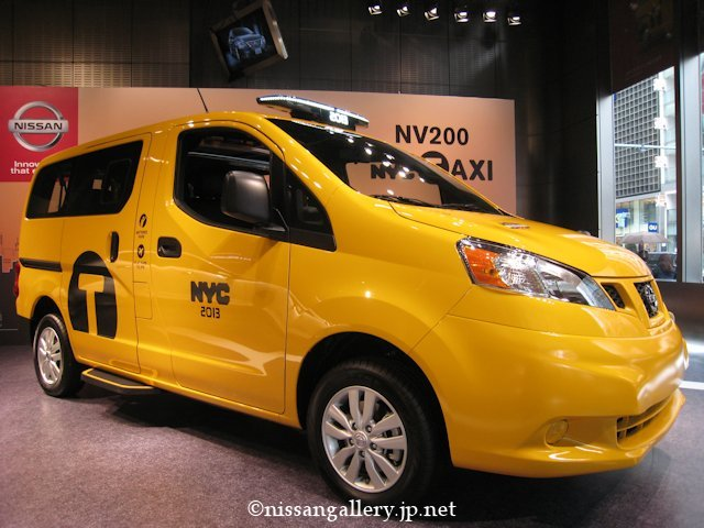 ニューヨーク観光で乗りたい。NV200タクシー運行開始