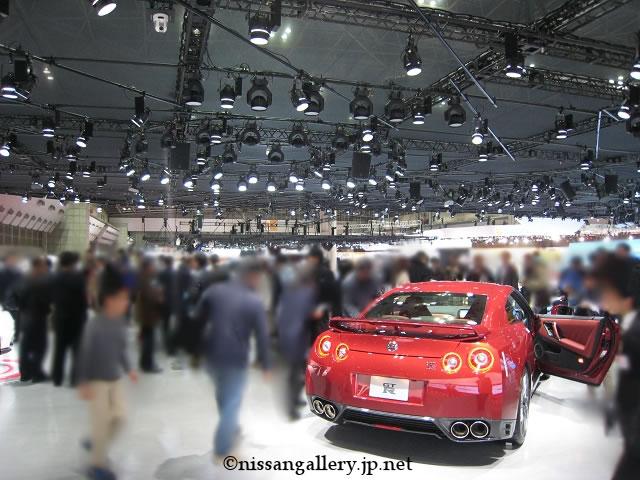 東京モーターショー 2013 日産ブース 2階