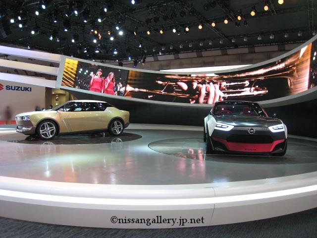 日産、横浜でモーターショー出品車を展示