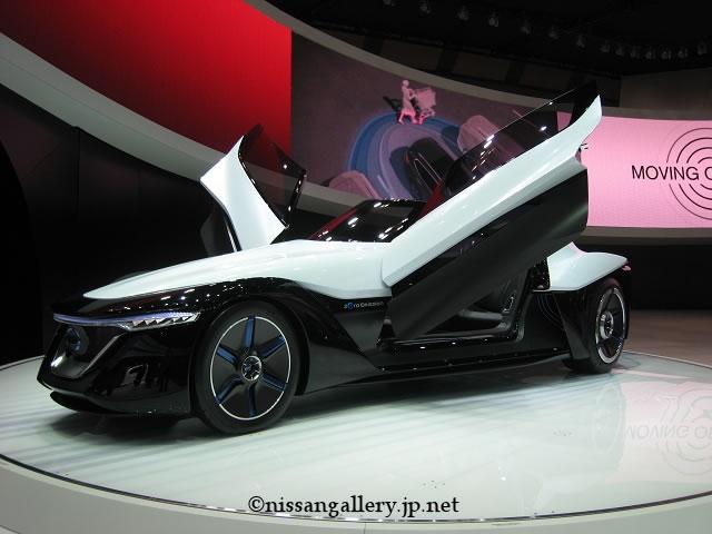日産銀座ギャラリーでコンセプトカーを展示