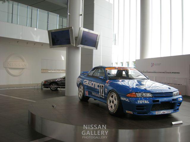 1990年チャンピオンのGT-Rを展示