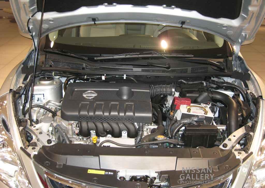 2代目ティーダのMR16DDTエンジン
