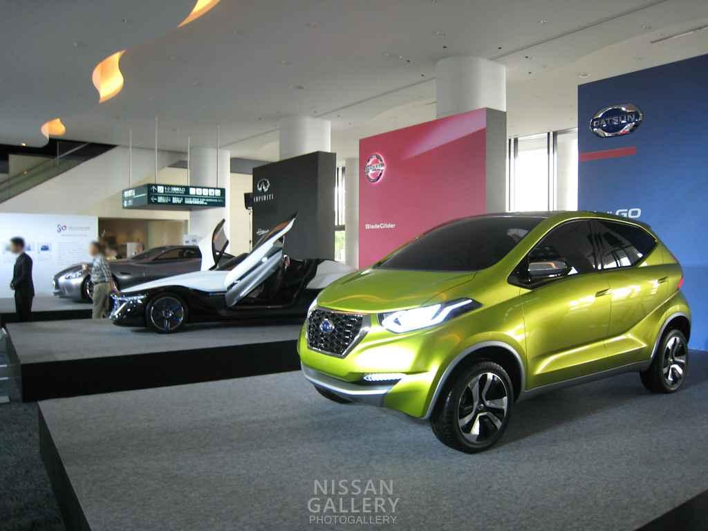 日産、3ブランドのコンセプトカーを展示