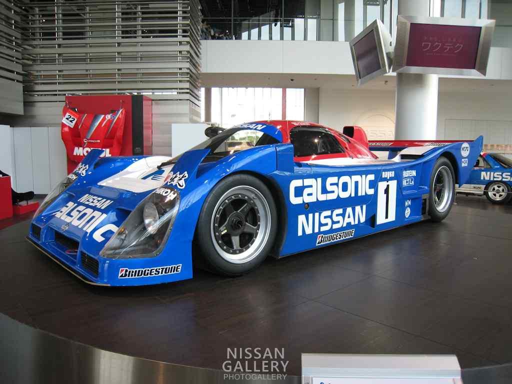 ニスモ30周年記念展示でニッサンR92CPを展示