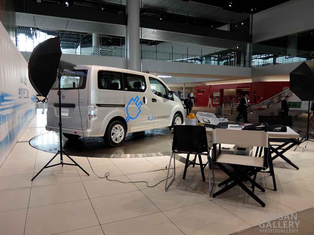 電気自動車「e-NV200」展示イベントを開催