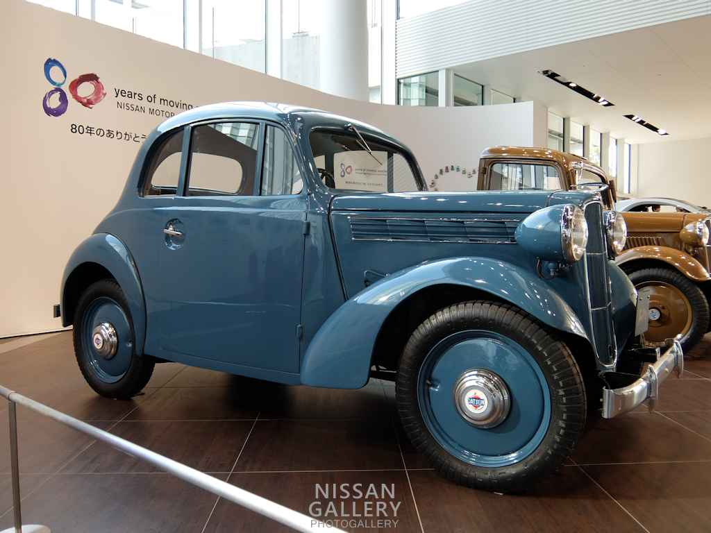 ダットサン16型クーペを80周年特別展示