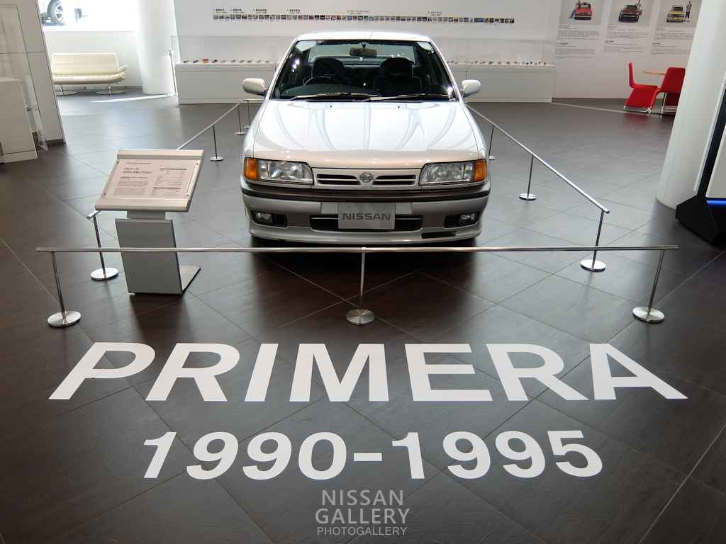 日産 初代プリメーラを特別展示