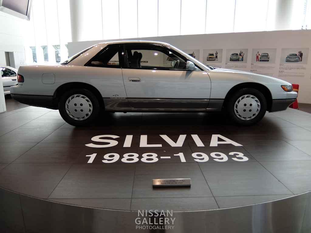 日産 S13型シルビアQ'sを特別展示