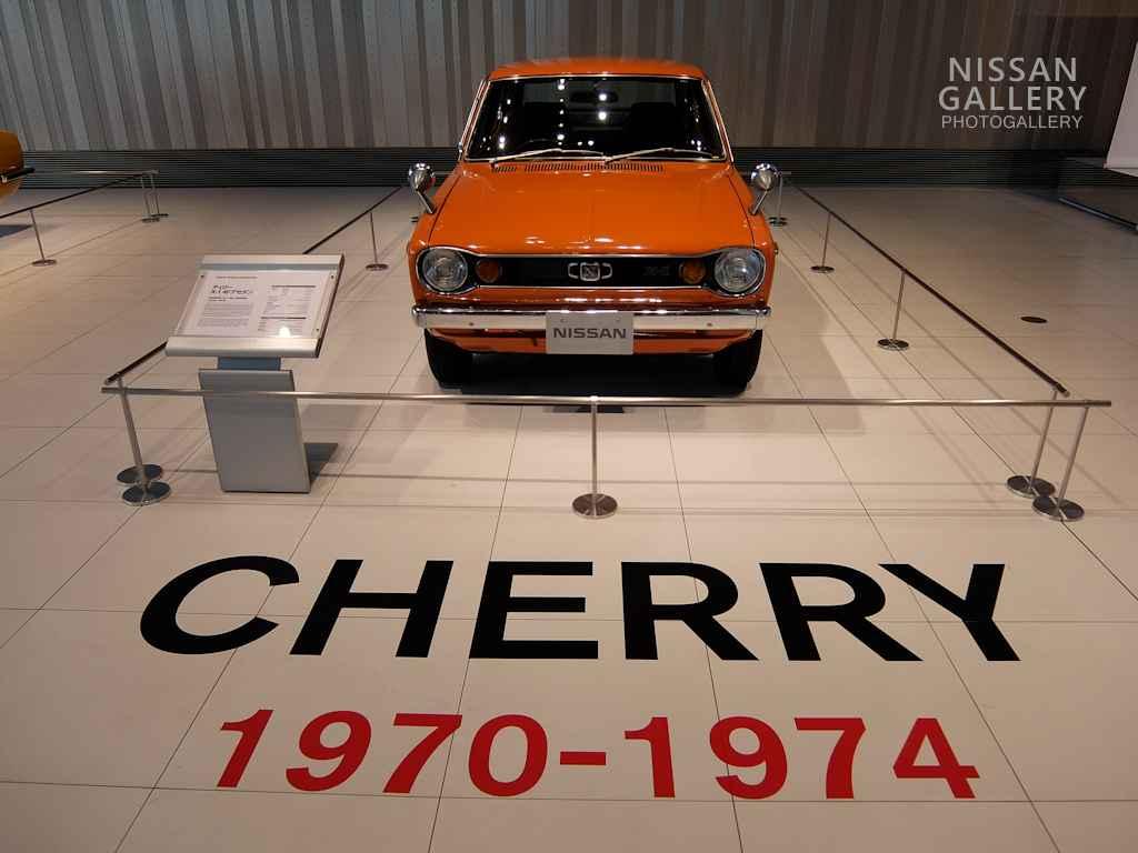 日産 チェリーX-1を特別展示