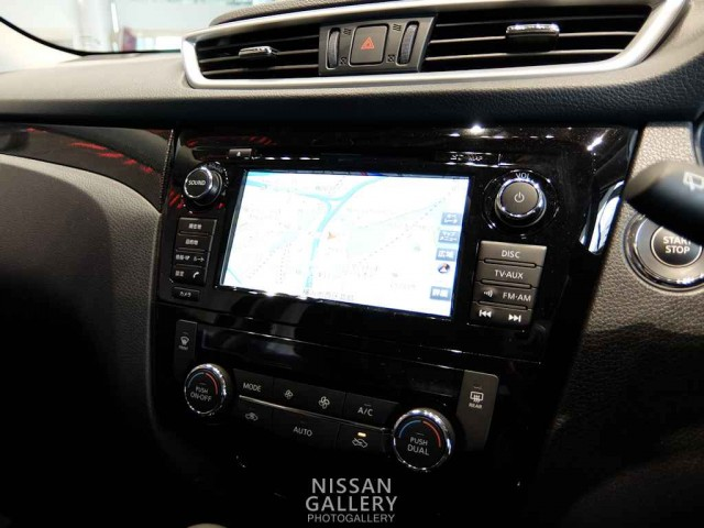 エクストレイル NissanConnectナビゲーションシステム