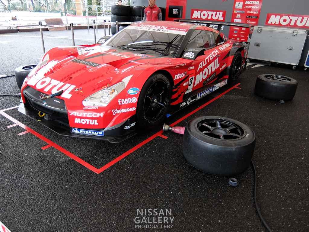 モータースポーツジャパン2015 日産ブース