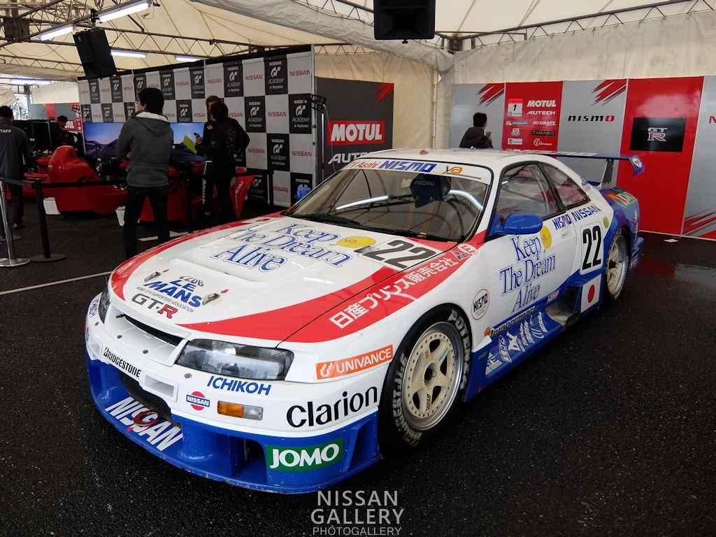 日産 モータースポーツジャパン2015にニスモGT-RLMを展示