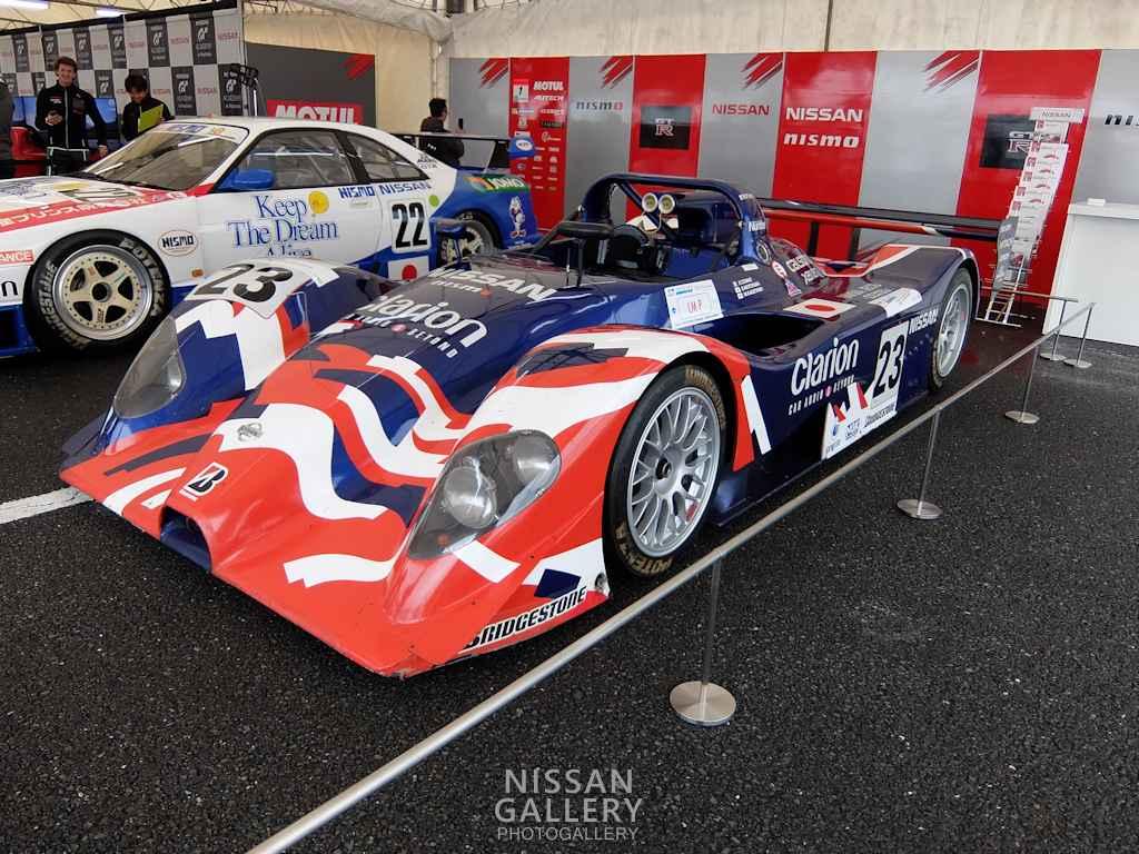 日産 モータースポーツジャパン2015にR391を展示