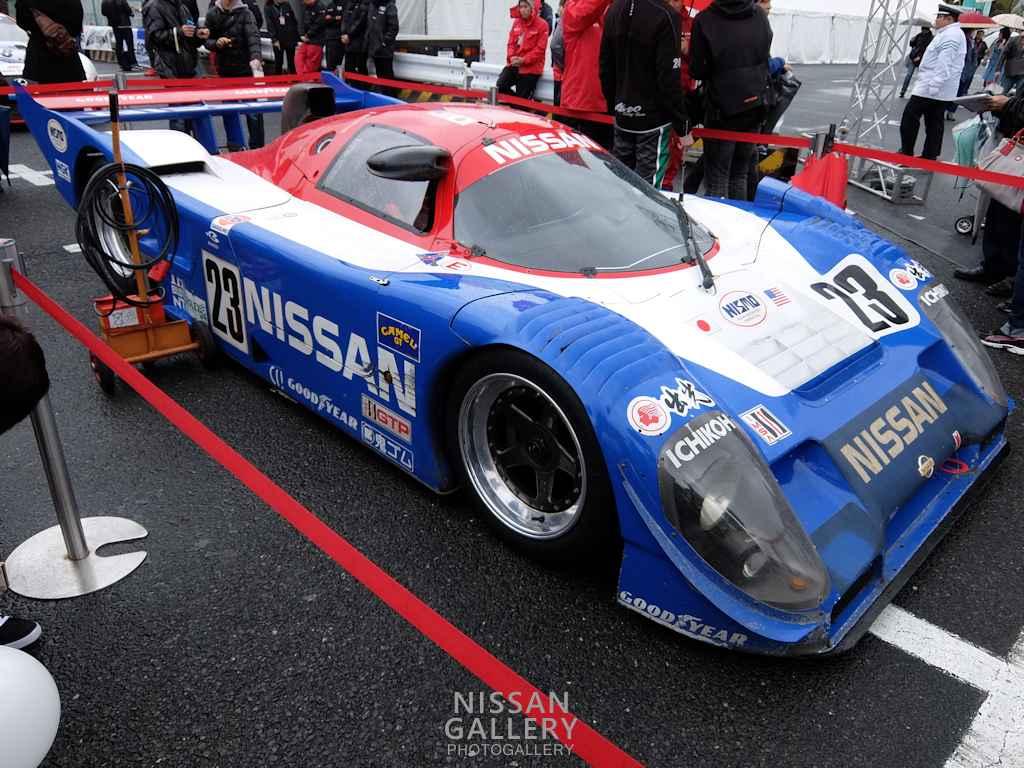 モータースポーツジャパン2015 グリッドウォークの日産車