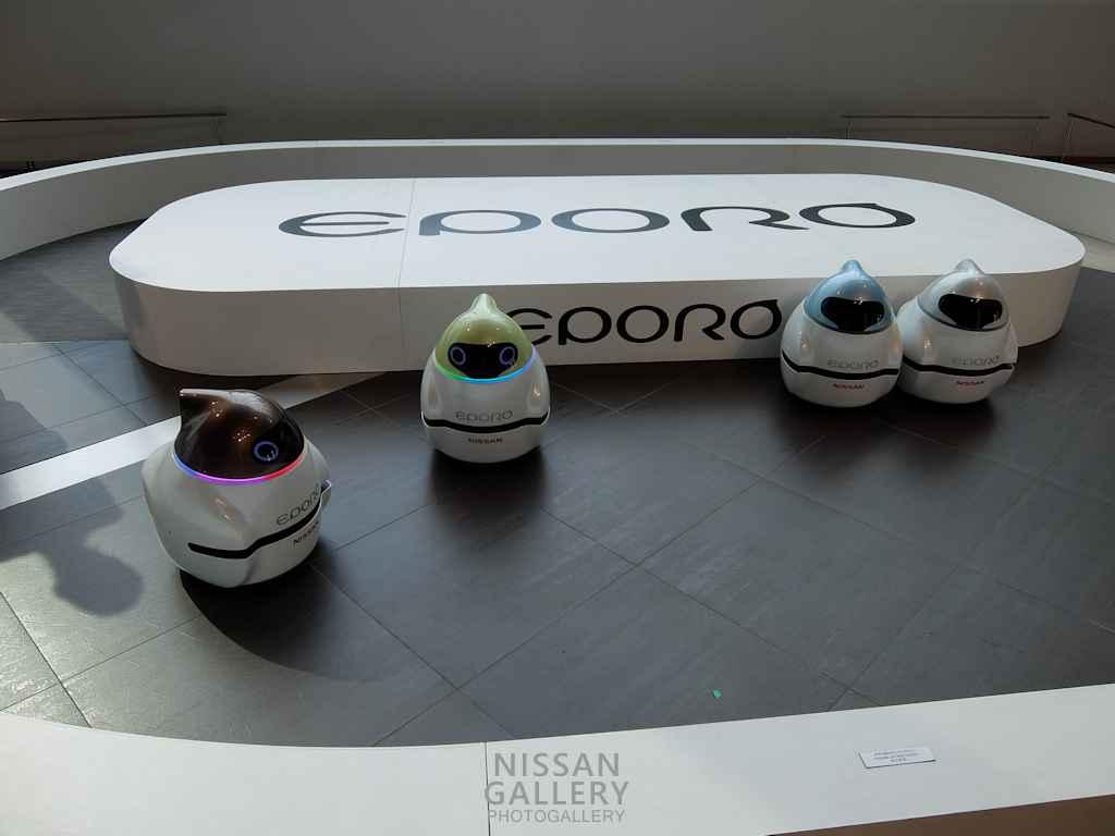 日産 ロボットカーEPOROのデモを実施
