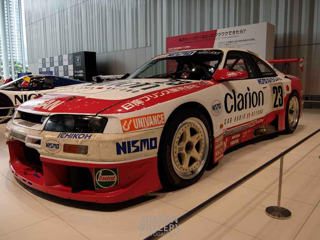 日産 ニスモ GT-R LMを展示