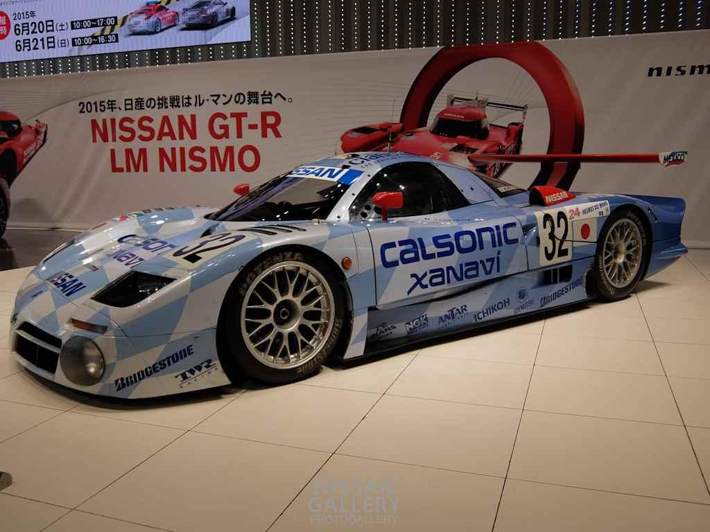 日産 R390 GT1を展示
