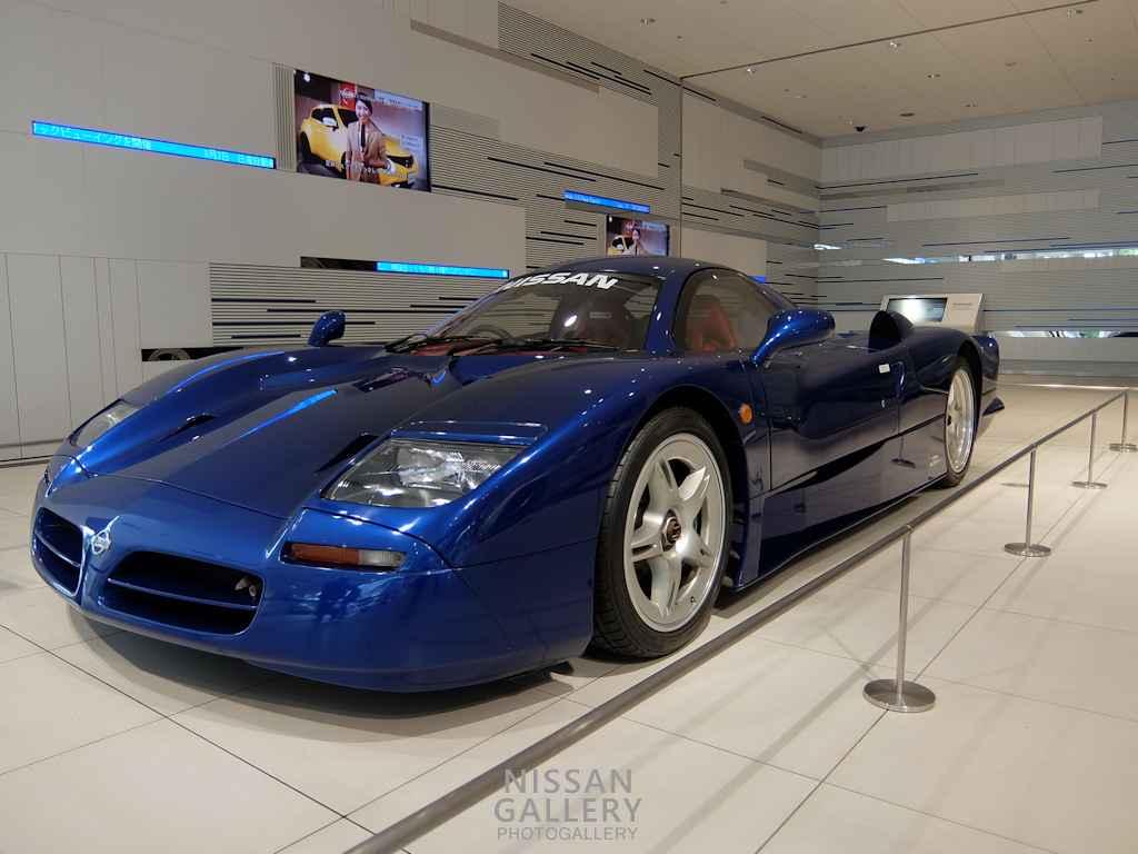 日産 世界に1台のR390 GT1を展示