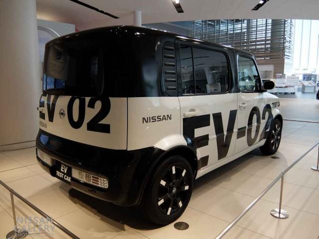 キューブEV リチウムイオンバッテリー実験車