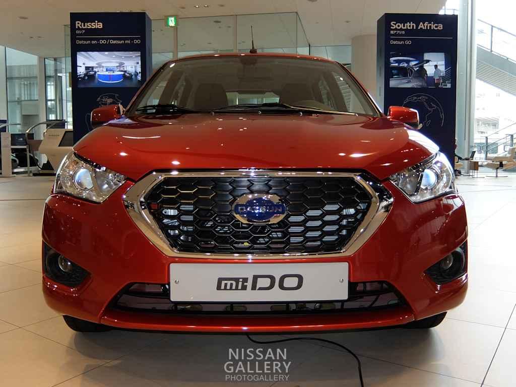 日産 Datsun mi-DOとon-Doを展示