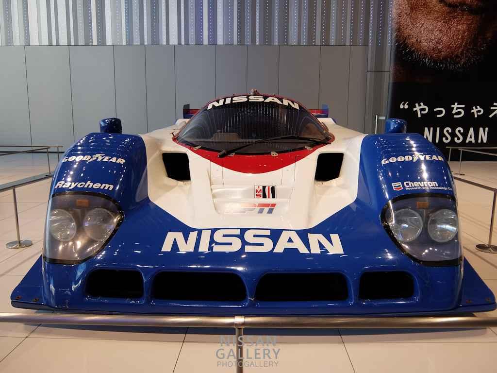 ニッサン R90CKを展示