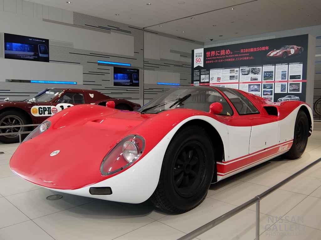 日産 R380A-Ⅱ型を展示