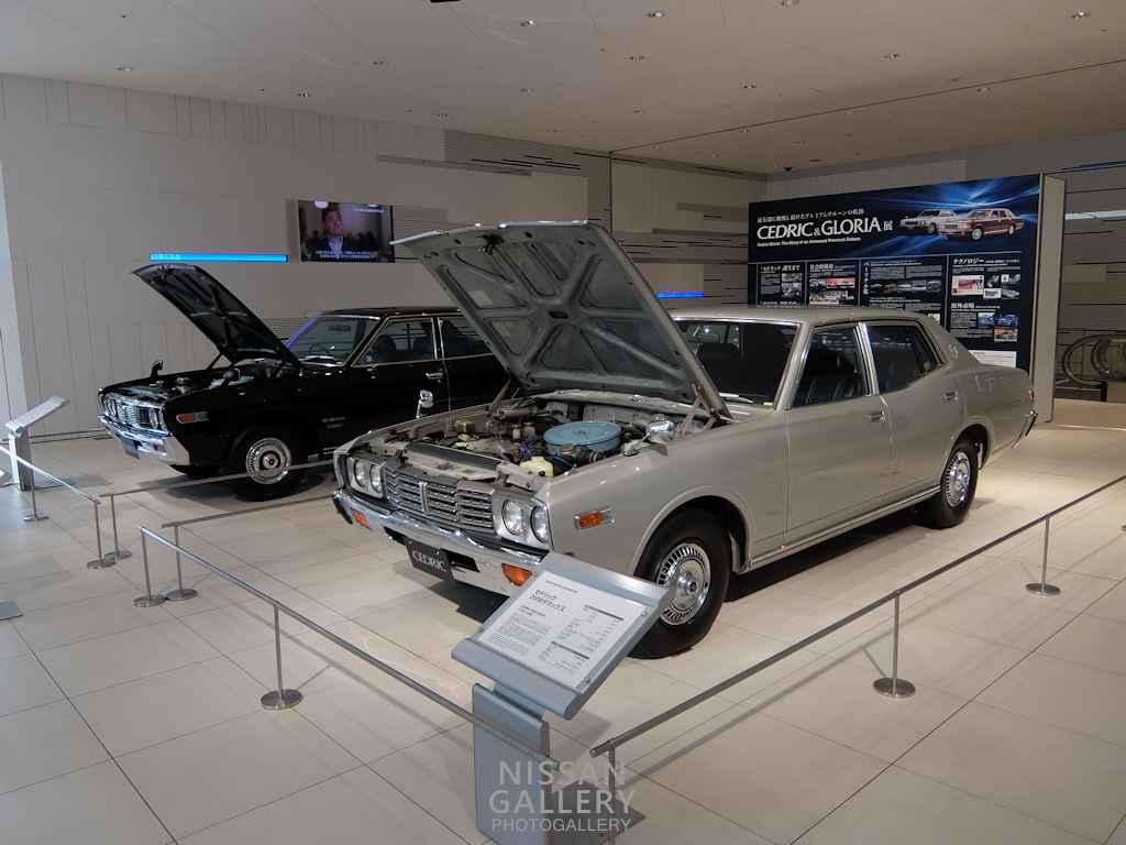230型グロリアと332型セドリックのL20エンジン