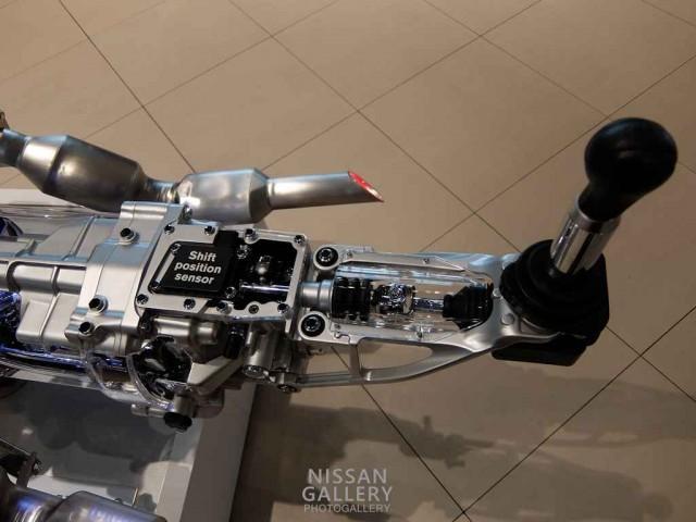 シンクロレブコントロール付6速マニュアルトランスミッション