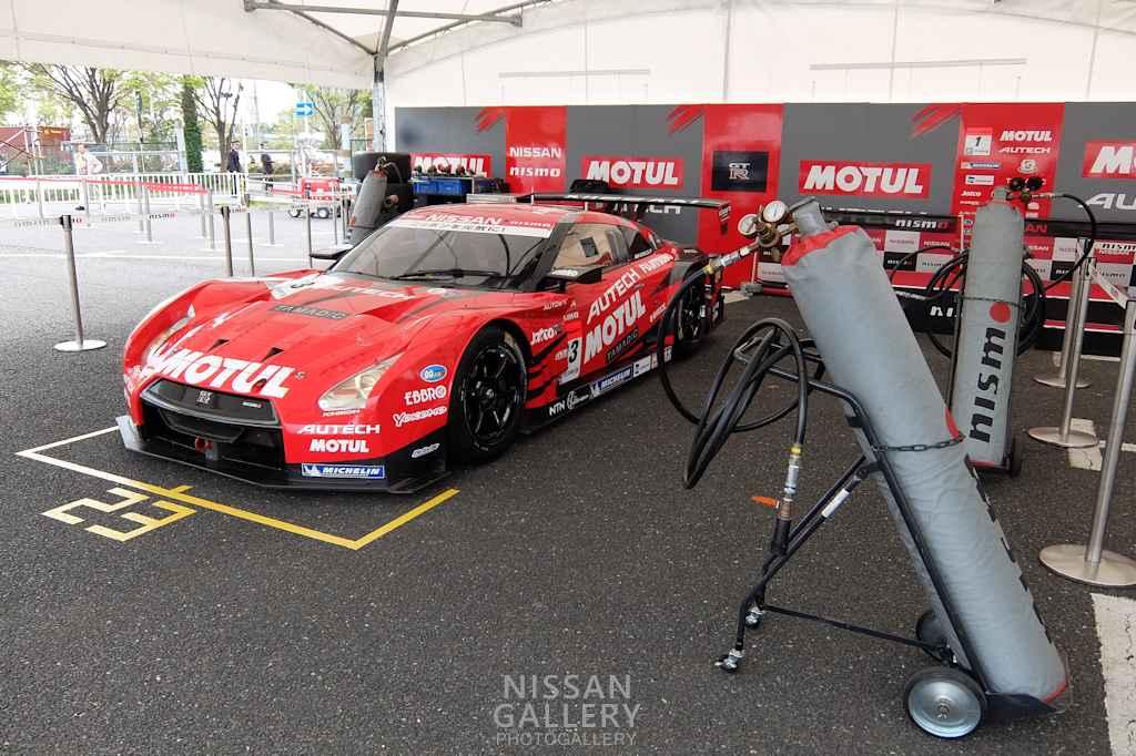 モータースポーツジャパン2016 日産ブース