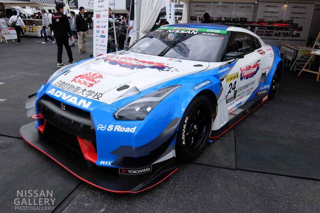 GT-R NISMO GT3を展示
