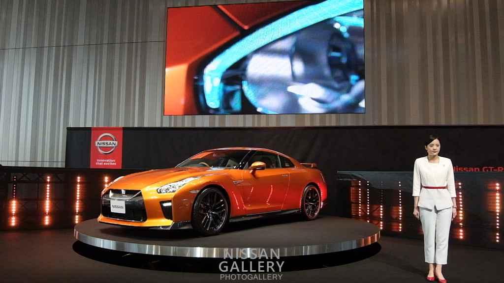 日産 GT-R 2017年モデルのプレゼンテーション