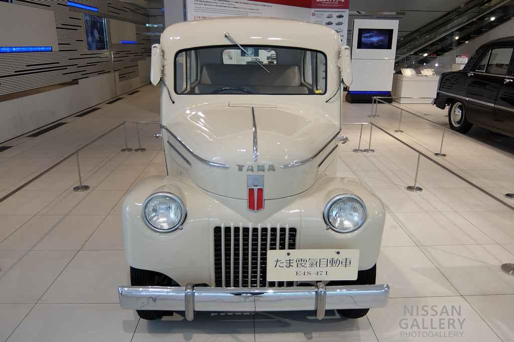 日産 たま電気自動車を展示