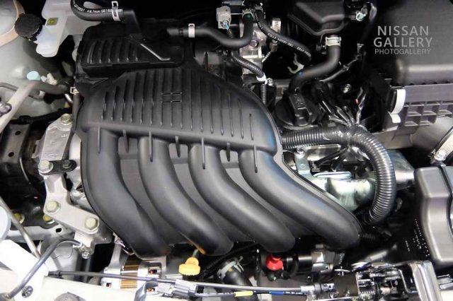 HR16DEエンジン