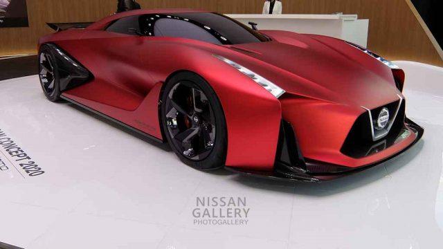 NISSAN CONCEPT 2020 VISION GRAN TURISMO