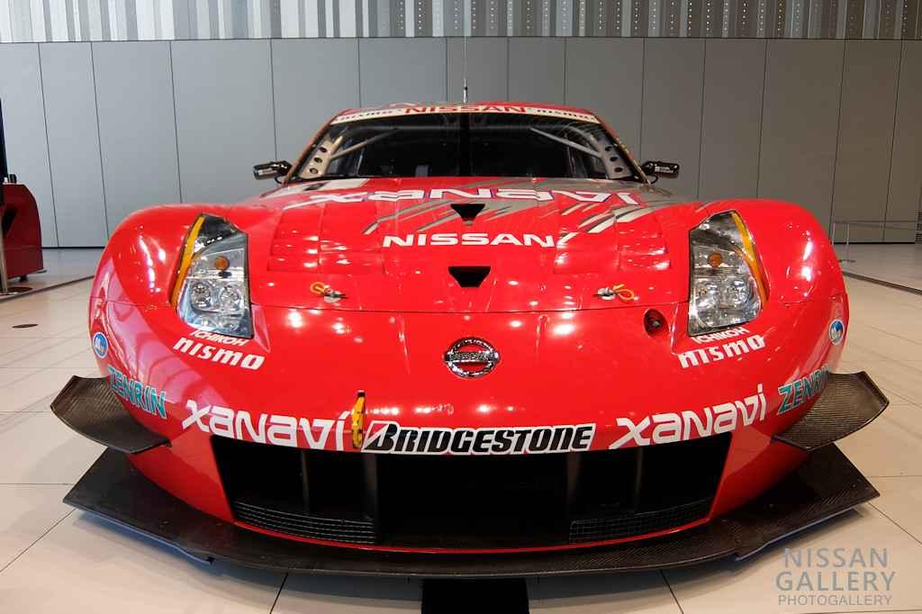 日産 全日本GT選手権のフェアレディZを展示