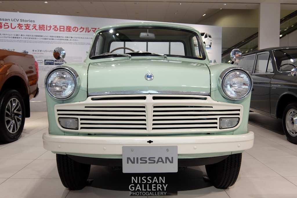 日産 ダットサン1200トラックを展示