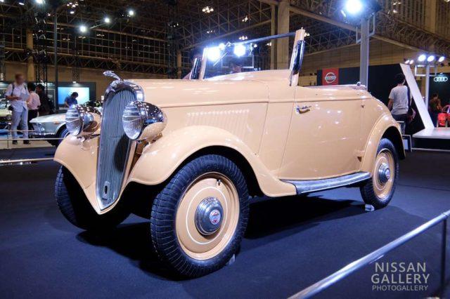 ダットサン14型ロードスター