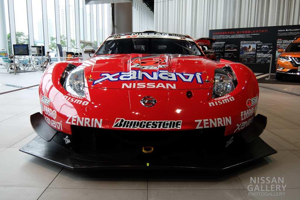 日産 フェアレディZ GT500車両を展示