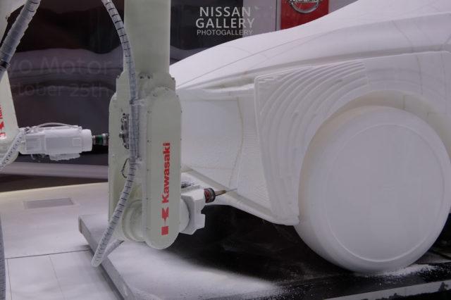 川崎重工業のロボットアーム