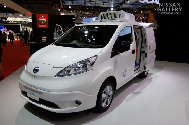 e-NV200 電池冷凍車コンセプト