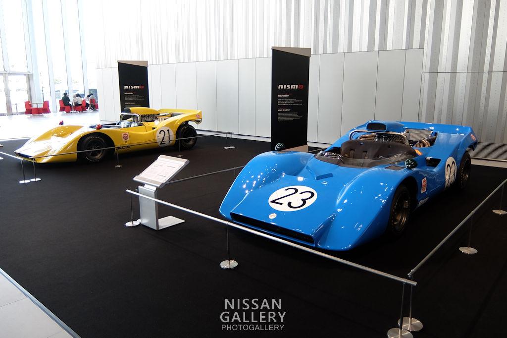 日産 R382を2台展示