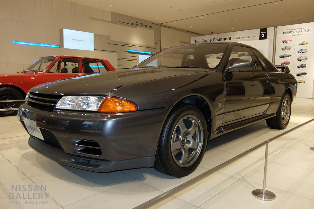 日産 R32GT-Rを展示