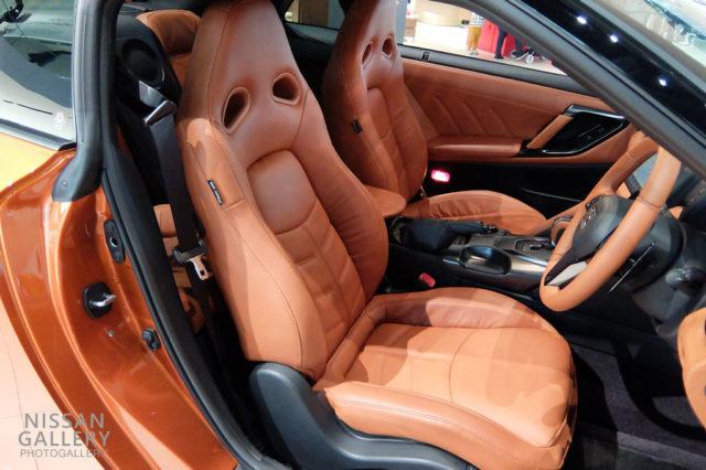 日産GT-R ファッショナブルインテリア