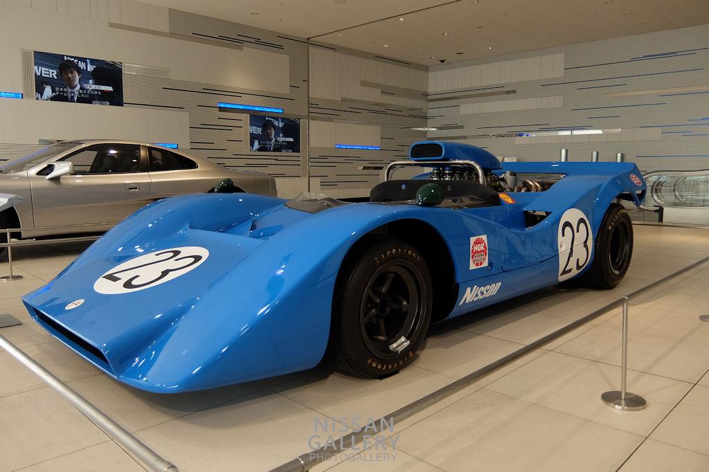 日産R382 23号車を展示