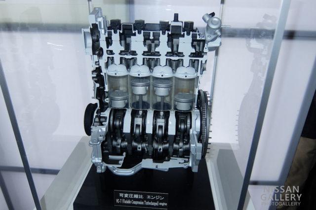 可変圧縮比「VCターボ」エンジン